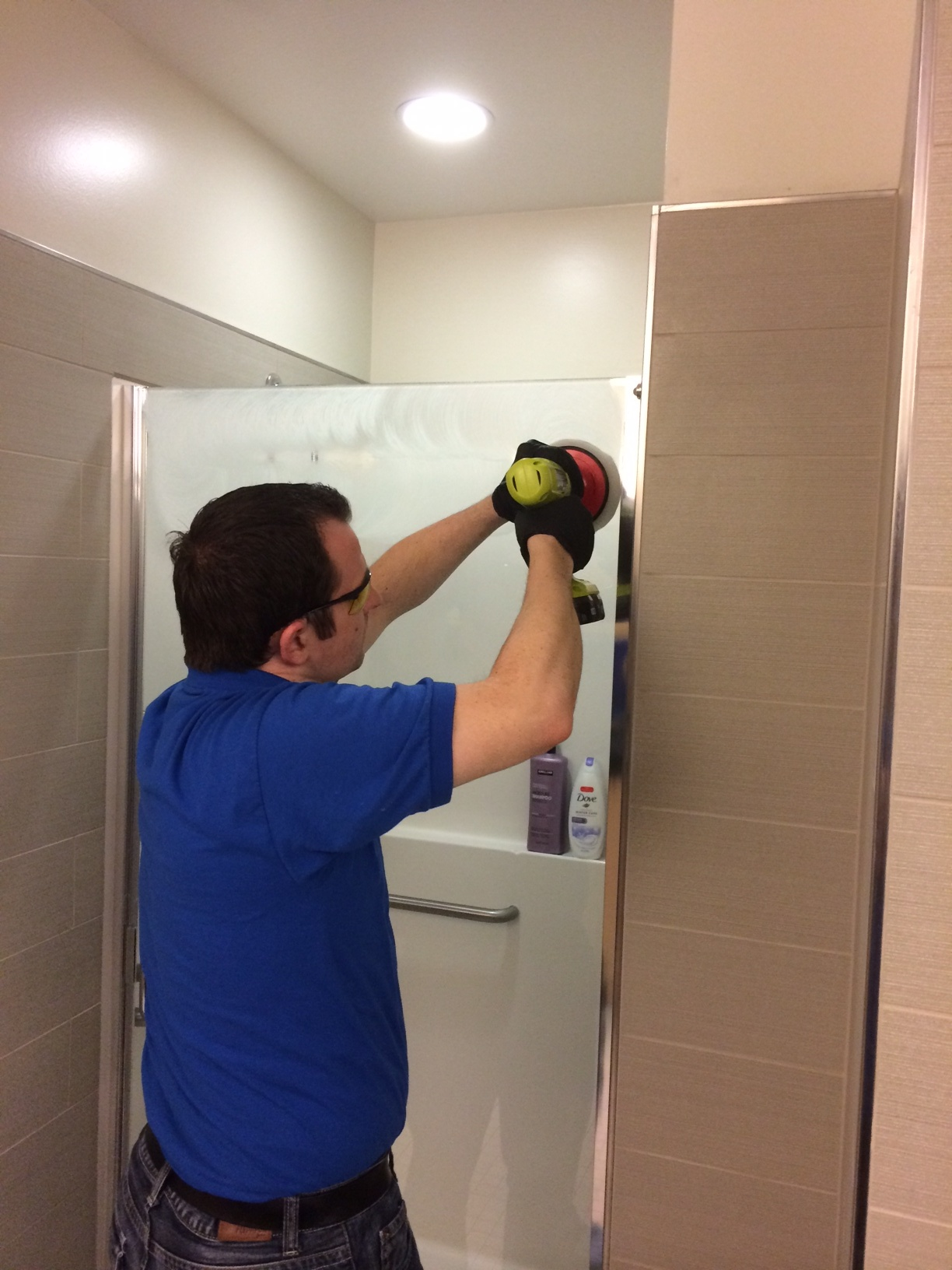 Tile Sealing And Grout Cleaning Service For Granite Stone